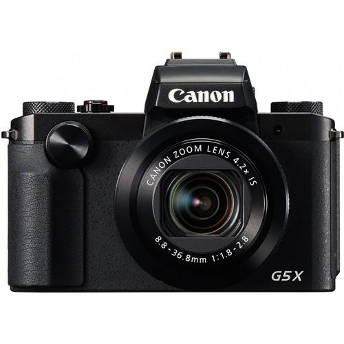Canon PowerShot G5X Digital Camera (Black)