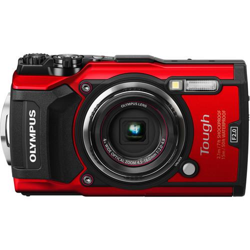 Olympus TG-5 Digital Camera (Red)