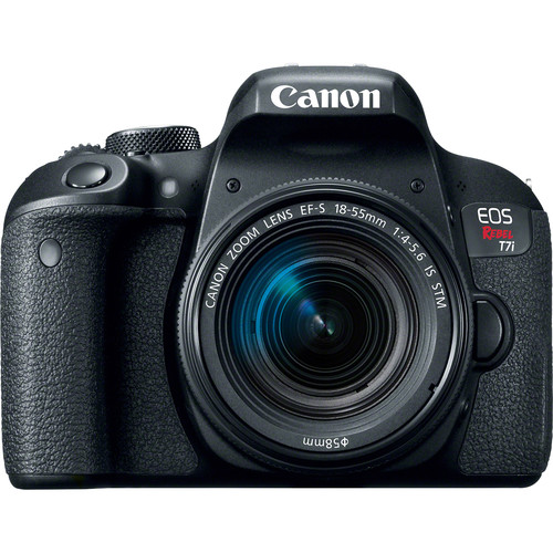 Canon EOS Rebel T7i with 18-55mm Lens