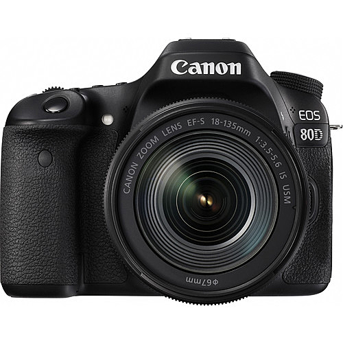 Canon EOS 80D DSLR Camera with 18-135mm F3.5-5.6 IS NANO USM Lens