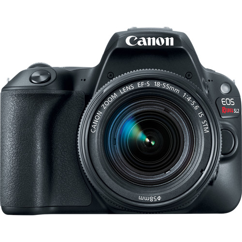Canon EOS Rebel SL2 DSLR Camera with 18-55mm Lens (Black)