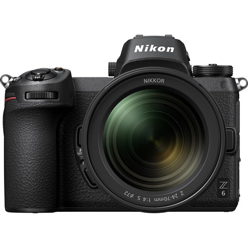 Nikon Z6 Mirrorless Digital Camera with 24-70mm f/4 S Lens
