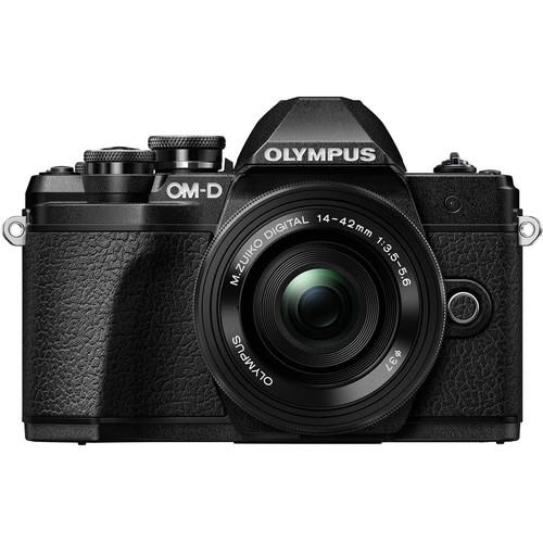 Buy Olympus OM-D E-M10 Mark III with 14-42mm EZ Lens (Black ...