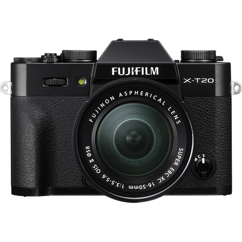 Fujifilm X-T20 Camera with 16-50mm Lens (Black)