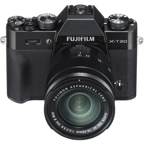 Buy Fujifilm X-T20 Camera with 16-50mm Lens (Black) - National ...