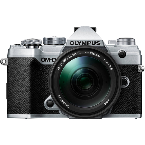 Olympus OM-D E-M5 Mark III Silver Mirorrless Digital Camera with 14-150mm M.Zuiko f4-5.6 II Lens