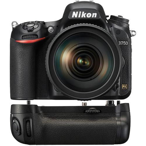 Nikon D750 DSLR Camera with 24-120mm Lens + Nikon MB-D16 Multi Battery Power Pack