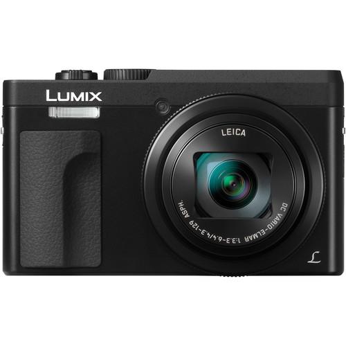 Panasonic Lumix DC-ZS70 Digital Camera (Black) + Panasonic DMW-BLG10 Li-Ion Battery & Charger Travel Bundle