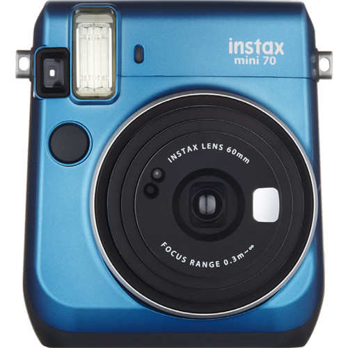 Fuji Instax Mini 70 Instant Film Camera (Island Blue)