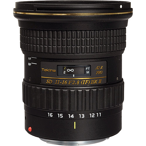 Tokina AT-X PRO DX-II 11-16mm f/2.8 Lens for Canon EF