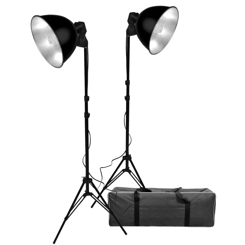 Studio Lighting Kit Amazon: Buy ProMaster Basic 2-Light Studio Reflector Kit