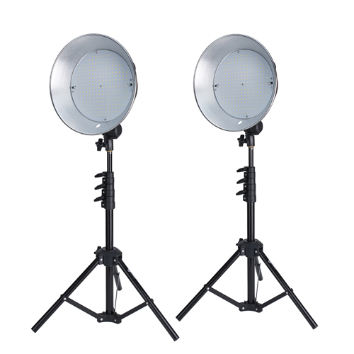 ProMaster Basis B270 LED 2 Light Studio Kit – Daylight