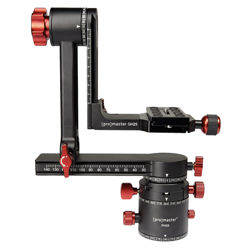 ProMaster GH25 Professional Gimbal Head with PH25 Panoramic Head