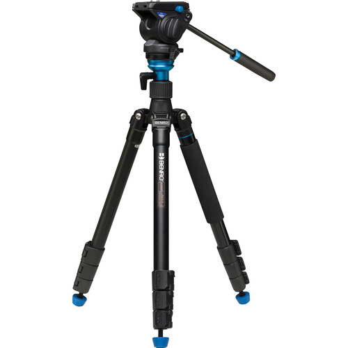 Benro Aero 4 Video Travel Angel Tripod Kit