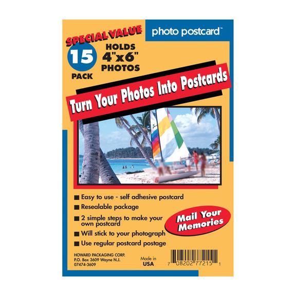 Buy Freez-A-Frame 4x6 Photo Postcards - National Camera Exchange