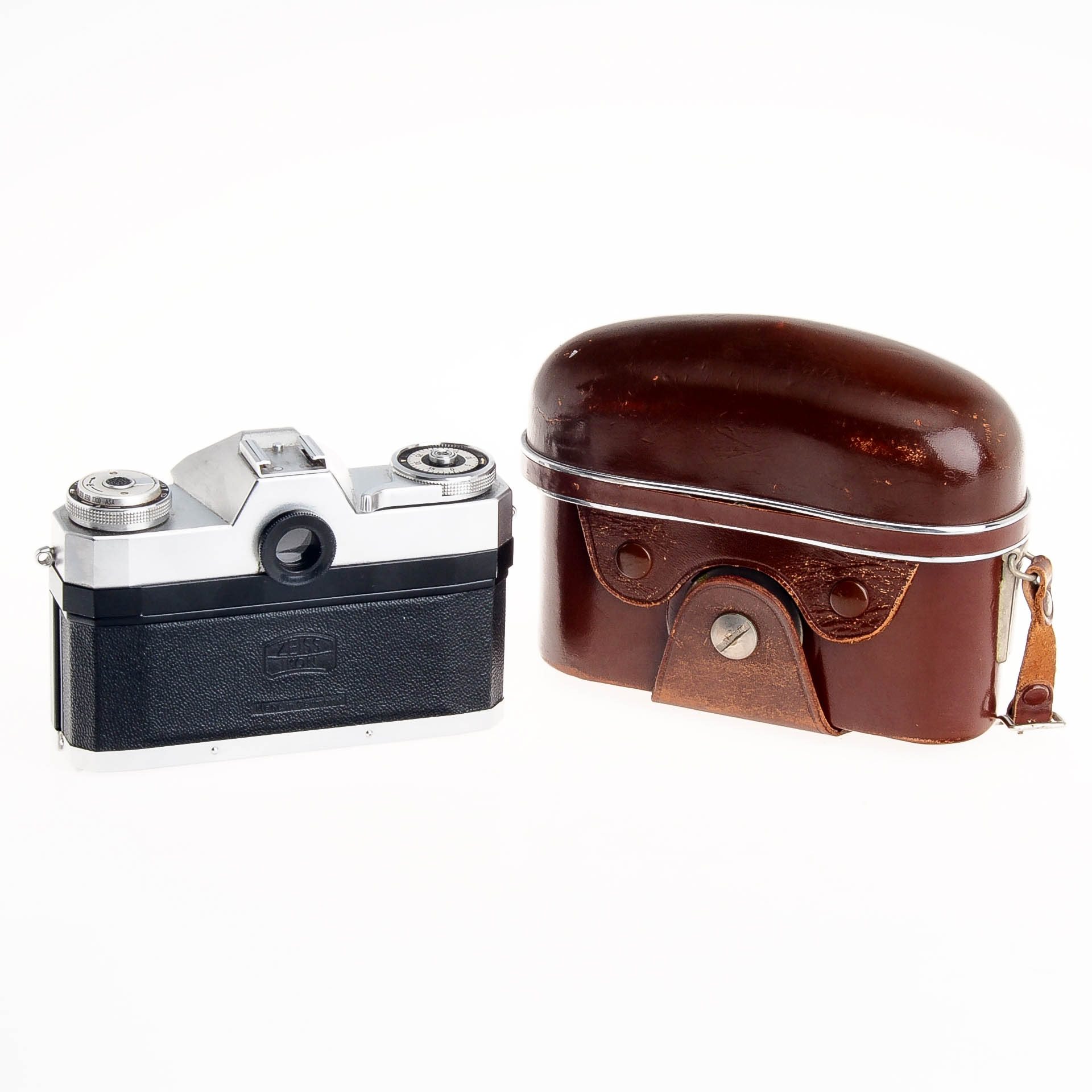 Buy Zeiss Ikon Contaflex Rapid with Tessar 50mm F2 8 Lens And Case -  Shutter Issue - National Camera Exchange